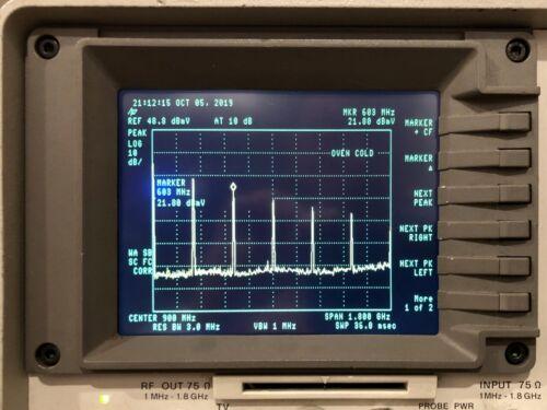 NewScope-0Jr LCD kit for HP 8590B 8592B 8590L 8592L 8594L Spectrum Analyzer