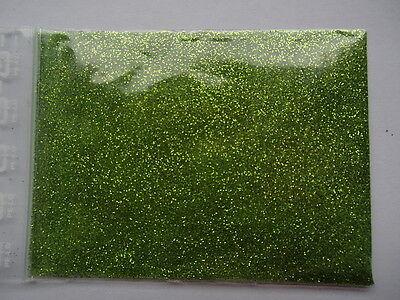10 Gr. wiesengrün Glimmer * Glitzer * Glitter * Streu * Deko * Basteln* Nailart