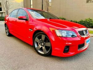 2012 Holden Commodore VE II MY12.5 SV6 Z Series Red 6 Speed Sports Automatic Sedan