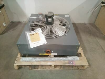 Dayton 1ebc4 12 Hp 5500 Cfm 120vac Watersteam Hydronic Unit Heater