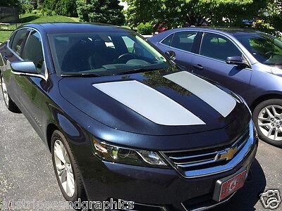 Hood Insert Rally Stripe Set Stripes Decals Graphics FIT 2014 2015 2016 impala