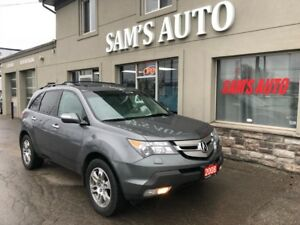 2008 Acura MDX AWD 7 passenger leather sunroof