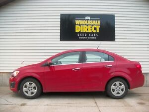 2012 Chevrolet Sonic AC - CRUISE - POWER GROUP