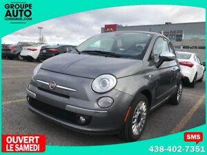 2012 Fiat 500 / LOUNGE / TOIT PANO / CUIR / BLUETOOTH /