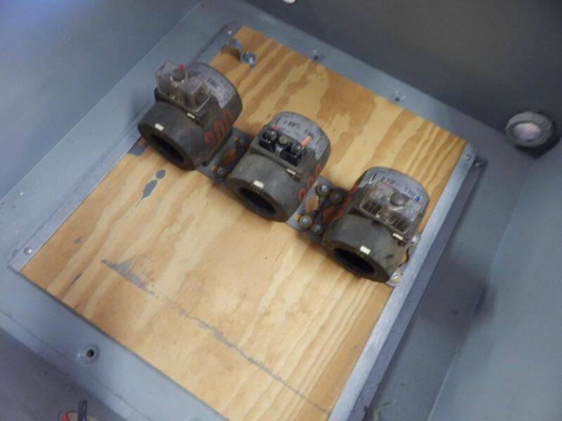 General Electric GE JCR-0 Amperage sensor  With 40x40x15 Durham panel 200:1
