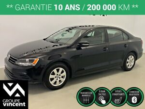 2016 Volkswagen Jetta TRENDLINE PLUS **GARANTIE 10 ANS**