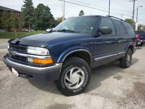 2001 Chevrolet Blazer LT Leather