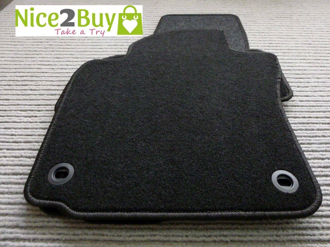 Autoteppiche Toyota Landcr HDJ 80 ab 01.90-07.96 Fußmatten Salza schwarz Kettel
