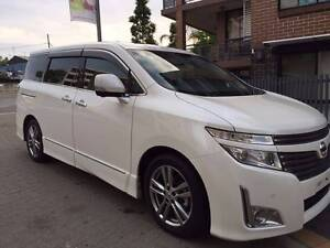 2011 Nissan Elgrand PNE52 VIP Wagon 7st 5dr CVT 6sp 4WD 3.5i Ryde Ryde Area Preview
