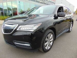 2015 Acura MDX ELITE CUIR TOIT BLUETOOTH LEATHER ROOF 7 PASS SH-
