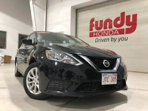 2018 Nissan Sentra 1.8 S w/backup cam, sunroof, $130.81 B/W MINT