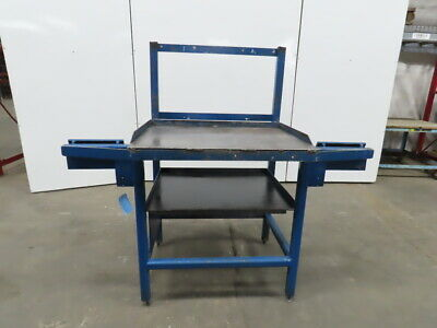 14 Thick Top Steel Machine Base Welding Table Work Bench 36wx27dx38-12h