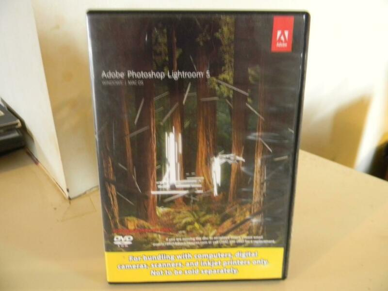 Adobe Photoshop Lightroom 5 (Mac & Windows) DVD