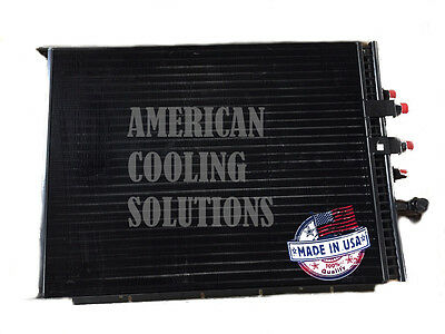 Dual Oil Cooler Re172498 For 9000 Series Tractor 9120 9220 9320 9420 9620