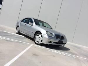 2001 Mercedes-Benz C200 Auto - Includes Rego & NEW RWC Footscray Maribyrnong Area Preview