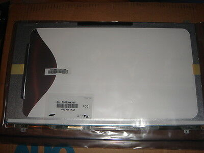 "Display Screen LED SAMSUNG NP300E5A-S07FR LTN156AT19 15.6"" Screen Display NEW"