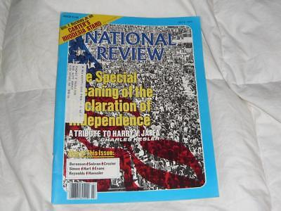 National Review Magazine   July 6 1979   Declaration Of Independence Meaning
