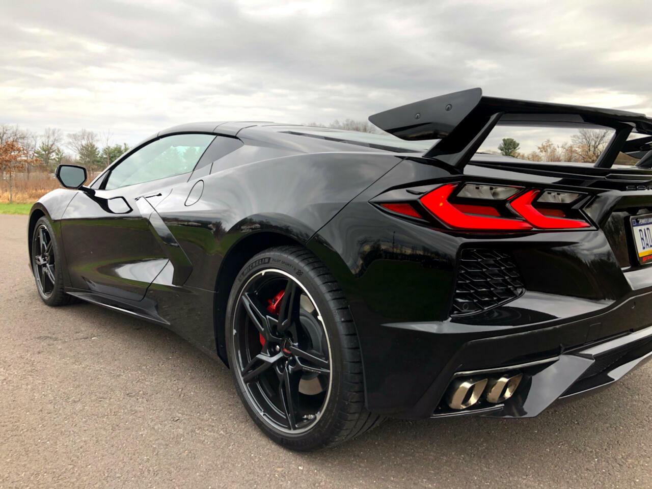 2020 Black Chevrolet Corvette Coupe 1LT | C7 Corvette Photo 8