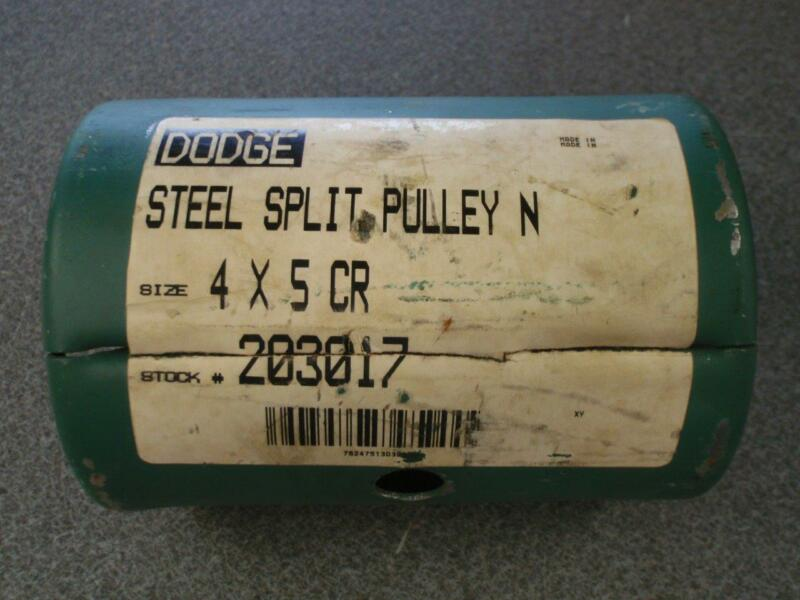 DODGE 203017 4X5 CR STEEL SPLIT PULLEY
