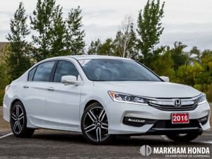 2016 Honda Accord Sport - NO ACCIDENT|BACKUP CAM|PARKING SENSORS