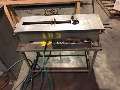 Carbide Industries 2 Stop Table Wire Bender - Lubow Type