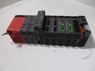Mitsubishi Q38 Base Unit With Plcs Qj71c24n Qh42p Qj71dn91 Qj71lp21-25 Q173cpun