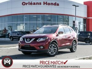 2015 Nissan Rogue SL/ROOF/LEATHER/BACKUP CAMERA EXT. WARRANTY TO