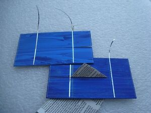 50 3x6 split / BROKEN pcs working! Solar panel Cells