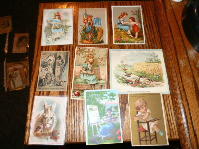 #9409,Estate Collection Victorian Trade Cds-Coffee
