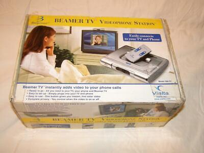 Vialta Beamer TV Videophone Station BM-TV Vintage Video Conference Phone NOS