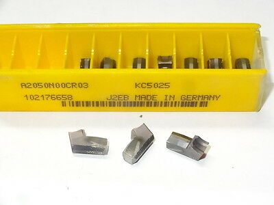 2 Pcs Only Kennametal A2050n00cr03 Kc5025 Carbide Inserts Germany