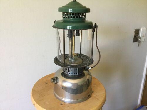 Working Vintage Coleman Lantern L427 stamped May 1927, QuickLite, chrome