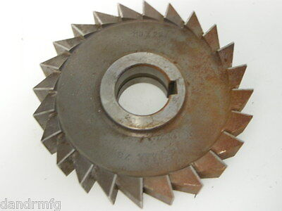 New 110mm X 22mm Circular Hss Slitting Saw Blade Side Cutter Cutting Mill