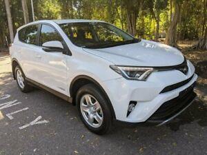 2018 Toyota RAV4 ALA49R GX AWD White 6 Speed Sports Automatic Wagon Stuart Park Darwin City Preview