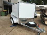 NEW ENCLOSED TANDEM BOX TRAILER WITH RAMP 2000KG RATED 8 X 5 Kunda Park Maroochydore Area Preview