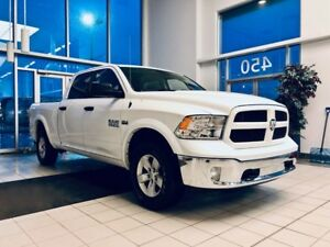 2018 Dodge RAM 1500 Outdoorsman 4x4 (Crew Cab, Hemi 5.7 L, Hitch