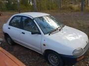 1 x 1995 & 1 x 1994 Mazda 121 White 4 door sedans 5 speed manuals Eden Bega Valley Preview