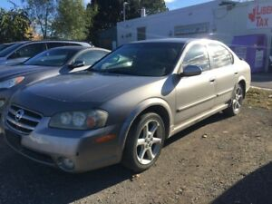 2002 Nissan Maxima SE  HST INCLUDED BLACK FRIDAY SALE