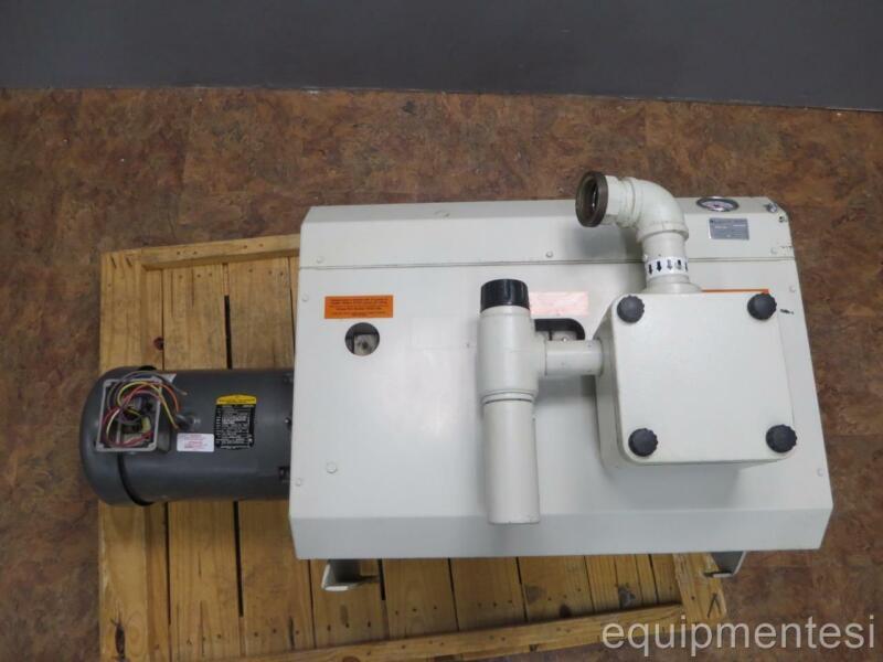 10HP Dual Stage Side Channel Blower Vacuum Pump SMV160 denver busch