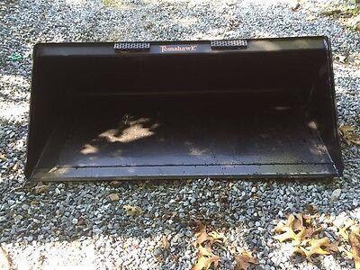 New 66 Skid Steertractor 5 12 Bucket -bobcat Case Cat John Deere Others