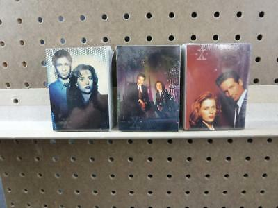 X-Files Series Card Sets Complete 1-72 Season 1, 2 and 3 full sealed sets