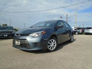 2014 Toyota Corolla 4dr Sdn Auto NO ACCIDENT LOW KM A/C PW PL PM