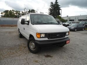 2006 Ford E350 CARGOVAN,4 NEW TIRES,4 NEW BRAKES,ROOF RACK,BUILT