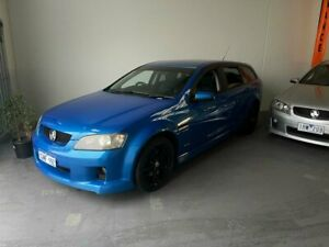 2009 Holden Commodore VE MY09.5 SS V Sportwagon Voodoo Blue 6 Speed Sports Automatic Wagon