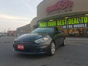 2014 Dodge Dart Limited LEATHER NAVI P-ROOF 2.4L R-MOTE START