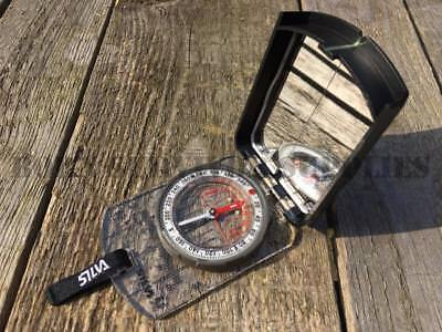 Silva RANGER S COMPASS Compact Baseplate Pocket Map Reading Hiking Walking DofE
