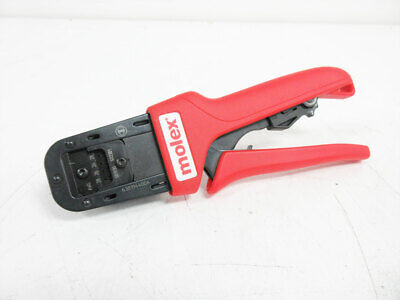Molex 638194400a Crimping Hand Tool 26 - 28 Awg Locator Crimp 63819-4400a