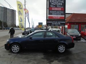 2007 Cadillac CTS LOADED/ LEATHER/ ROOF / LOW KM / CLEAN /