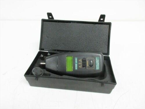 EXTECH 461891 TACHOMETER, 0.5 TO 20, 000 RPM WITH 3 TIPS