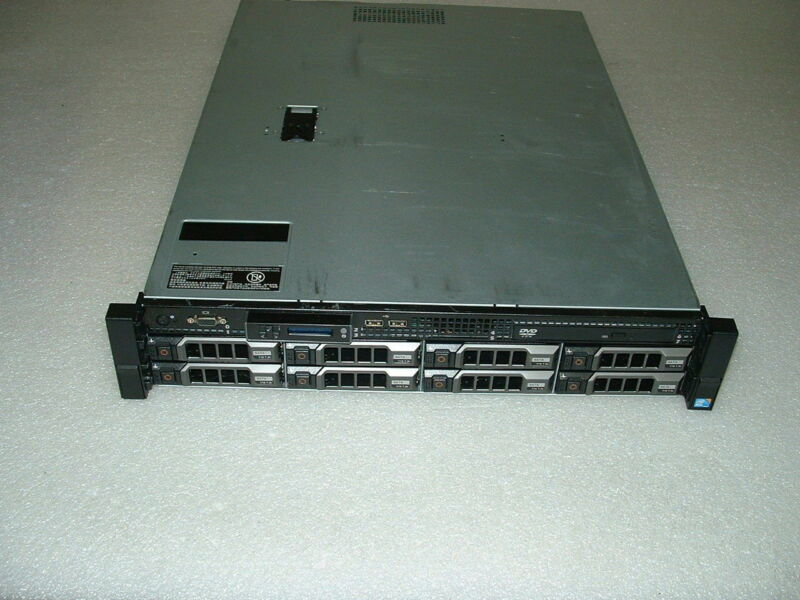 Dell PowerEdge R510 2x Xeon E5649 2.53ghz Hex Core  32gb  H700  32TB  2x 750w